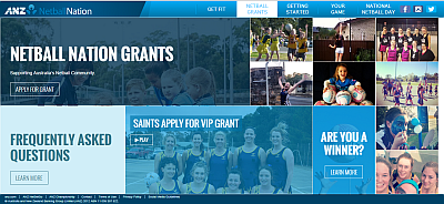 netball nation grants 400